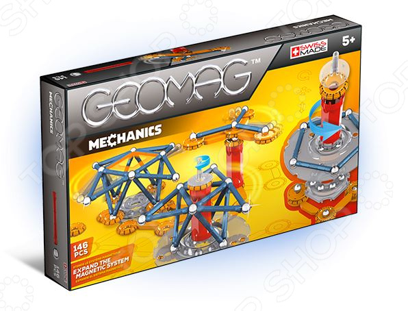 Конструктор магнитный Geomag 722 Mechanics