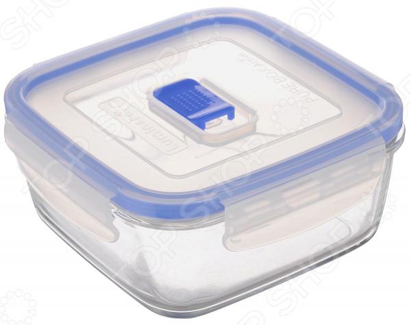 Контейнер для продуктов квадратный Luminarc Purebox Active
