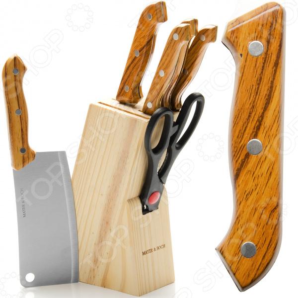 Набор ножей Mayer&Boch MB-395 набор ножей mayer and boch mb 24135