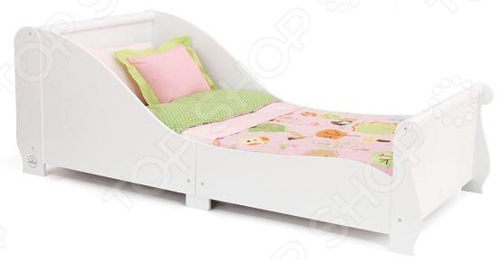 цены Кроватка детская KidKraft Sleigh