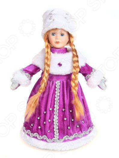 Кукла-конфетница новогодняя Новогодняя сказка «Снегурочка» 972373 мягкие игрушки новогодняя сказка кукла снегурочка 35 5 см красн бел
