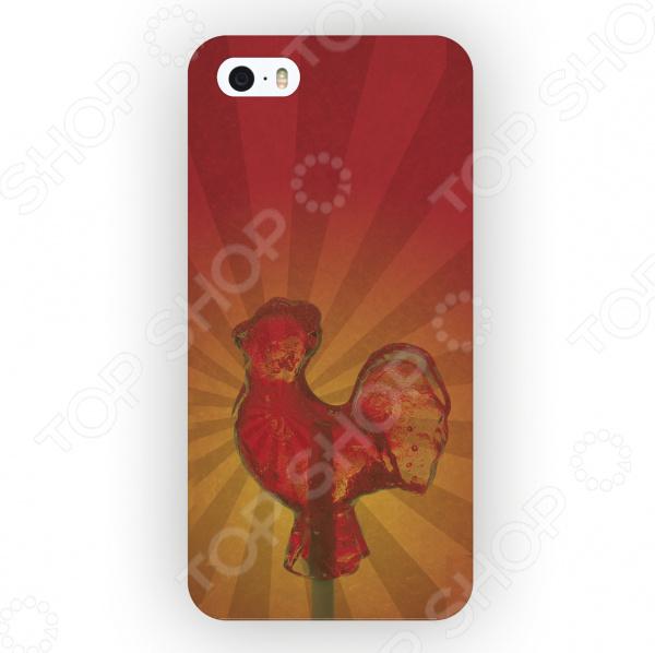 Чехол для iPhone 5 Mitya Veselkov «Леденец Петушок» mitya veselkov тюльпановый принт чехол для apple iphone 5 5s