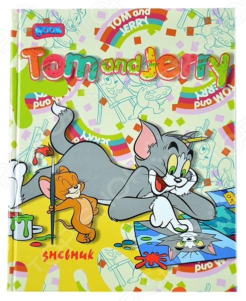 Дневник школьный Бриз Boom Том и Джерри 217. В ассортименте