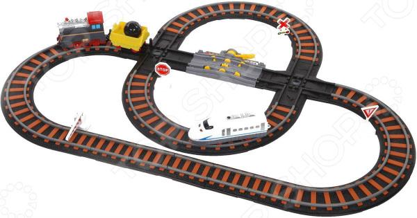 Набор железной дороги игрушечный Yako «Останови крушение!» 1724265