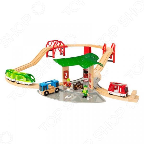 Набор игровой Brio «Автовокзал»