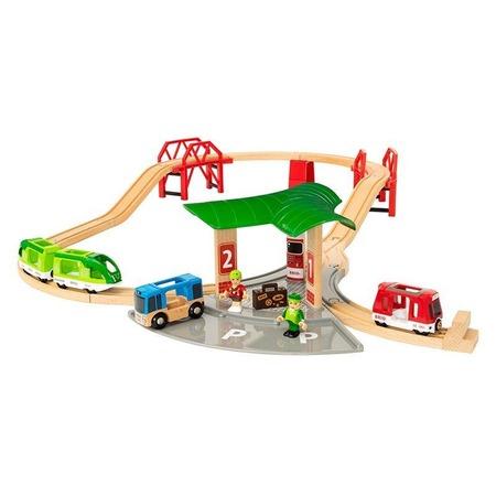 Купить Набор игровой Brio «Автовокзал»