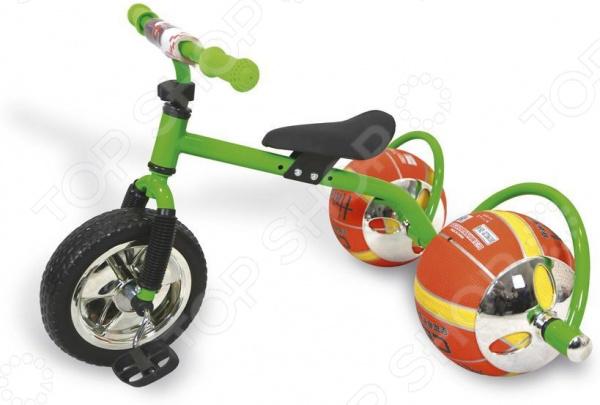 Велосипед детский с колесами в виде мячей Bradex «Баскетбайк»