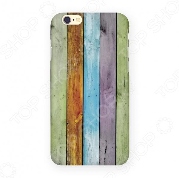Чехол для IPhone 6 Mitya Veselkov «Цветные доски» mitya veselkov чехол для iphone 6 скандинавская лошадка