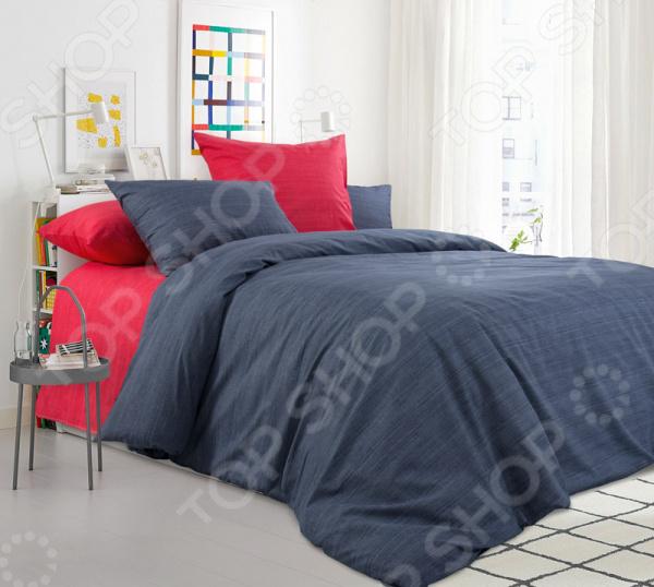 Комплект постельного белья ТексДизайн «Бушующий вулкан» комплект постельного белья altinbasak 1 5 сп ранфорс athletik оранжевый 298 42 char002