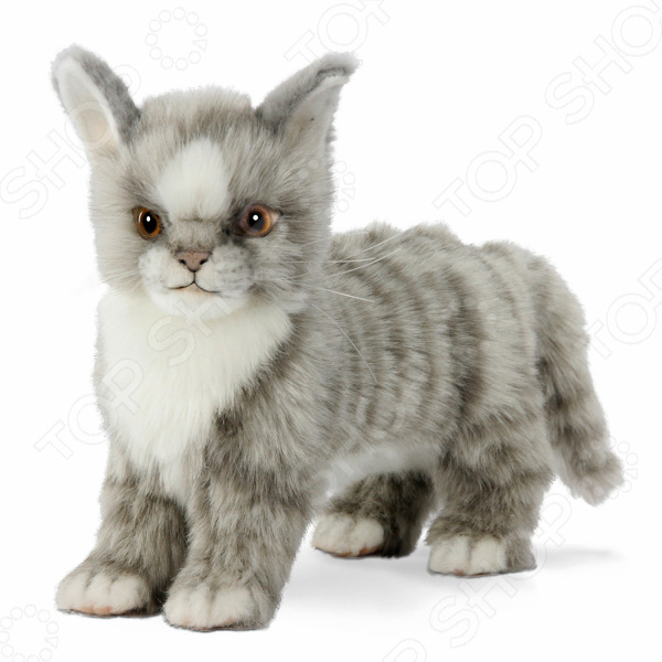 Мягкая игрушка Hansa «Котенок стоящий» мягкие игрушки plants vs zombies котенок 15 см