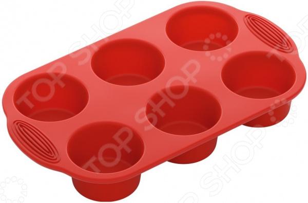 Форма для маффинов Nadoba Mila 762016 westmark форма для 6 ти маффинов красная