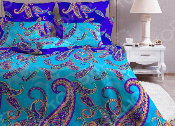Комплект постельного белья Хлопковый Край «Анталия» 5597/1 бритва браун 1508 тип 5597