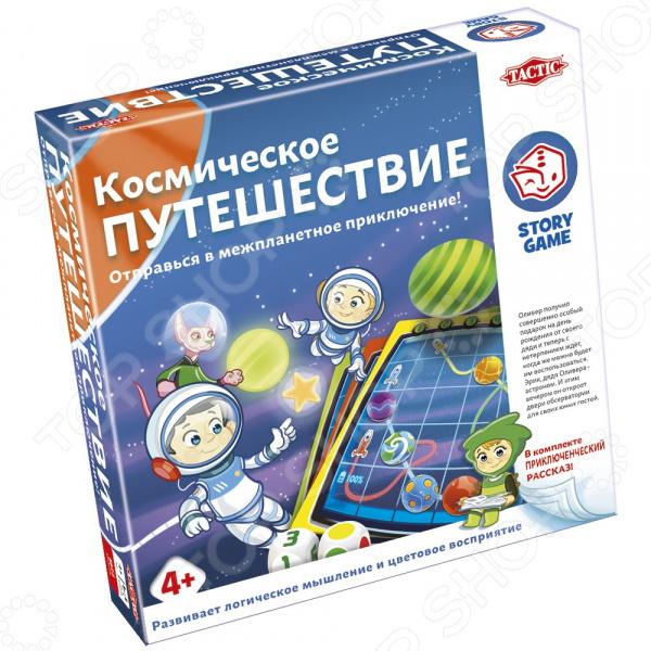 Игра настольная Tactic «Космическое путешествие» напольная игра развивающая белка и стрелка космическое путешествие 700060