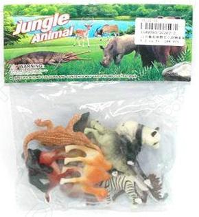 все цены на Набор фигурок Shantou Gepai 2C262-2 Jungle animal