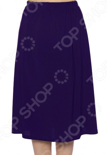 Юбка Лауме-Лайн «Чуткая женщина». Цвет: темно-синий блуза лауме лайн сад чудес цвет темно синий