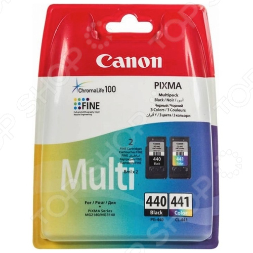 Картридж струйный Canon PG-440/CL-441 комплект картриджей canon pg 440 cl 441 для pixma mg2140 mg3140