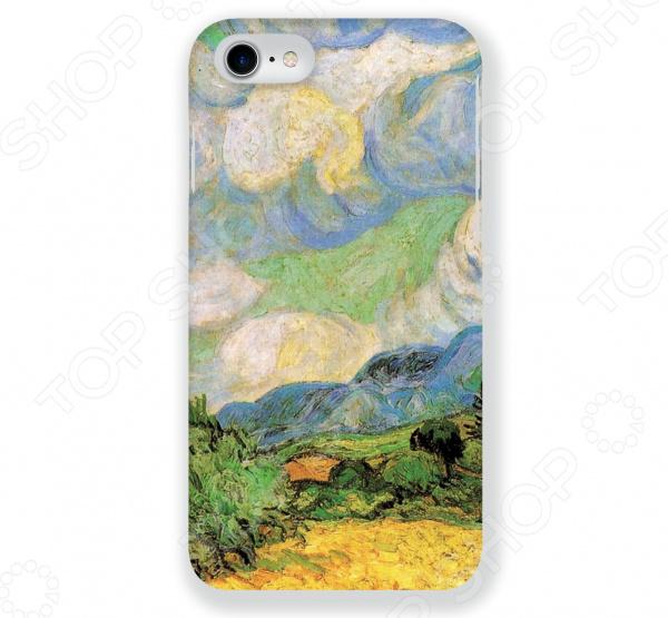 Чехол для iPhone 7 Mitya Veselkov «Ван Гог: Пшеничное Поле» чехол для iphone 5 mitya veselkov ван гог ночь над роной