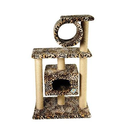 Домик для кошек ЗООНИК 2-х этажный с трубой