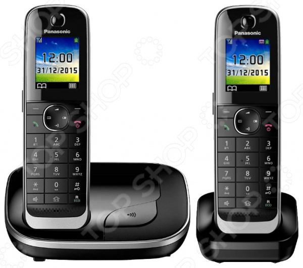 Радиотелефон Panasonic KX-TGJ312RUB стационарный