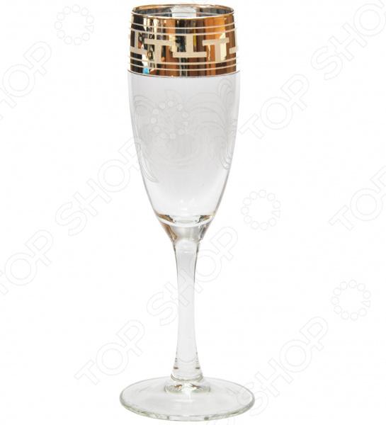 Набор бокалов Гусь Хрустальный «Эдем. Греческий Узор» набор бокалов для бренди гусь хрустальный эдем каскад