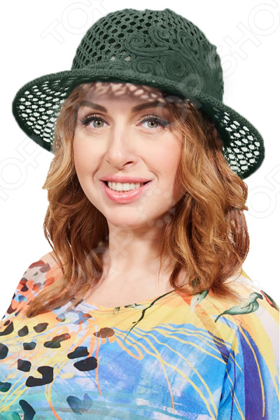 Шляпа «Бригантина». Цвет: темно-зеленый