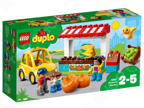 Конструктор для малышей LEGO Duplo «Фермерский рынок»