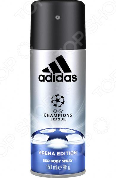 Дезодорант-спрей для мужчин Adidas Arena дезодорант hlavin дезодорант спрей для обуви