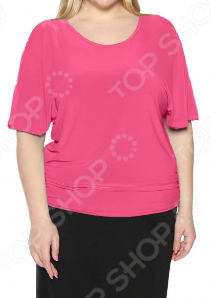 цена Блуза Pretty Woman «Фруктовый заряд». Цвет: розовый онлайн в 2017 году