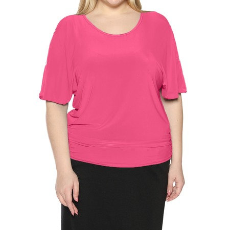 Купить Блуза Pretty Woman «Фруктовый заряд». Цвет: розовый