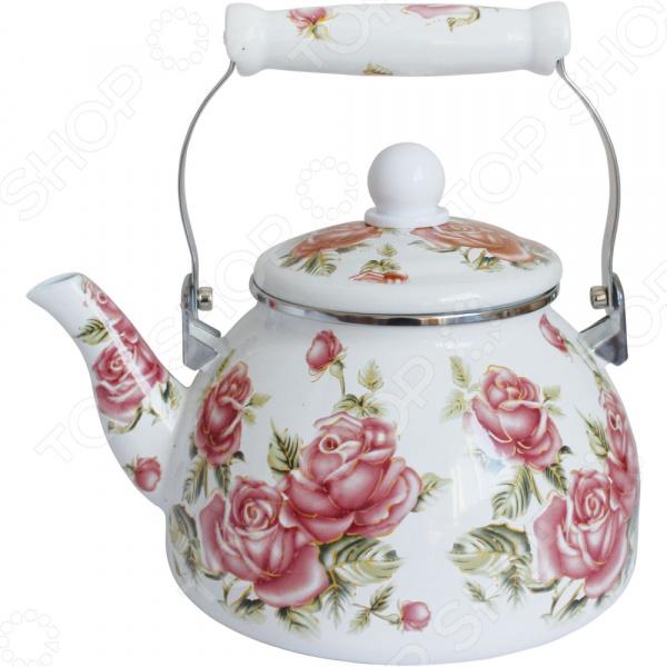Чайник эмалированный Rainstahl RS-7533-25 чайник эмалированный rainstahl rs 7541 22