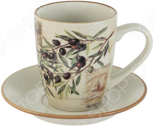 Чайная пара LF Ceramic «Оливки»