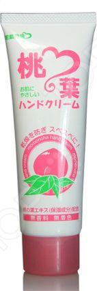 Крем для рук Salad Town Wakahada Monogatari с экстрактом листьев персика