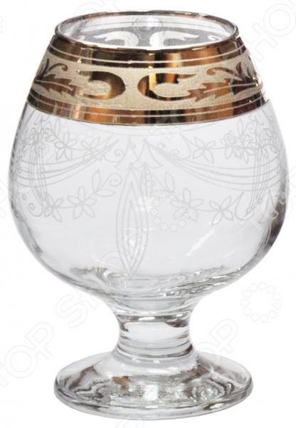 Набор бокалов для бренди Гусь Хрустальный «Русский Узор» набор бокалов для бренди гусь хрустальный нежность 410 мл 6 шт