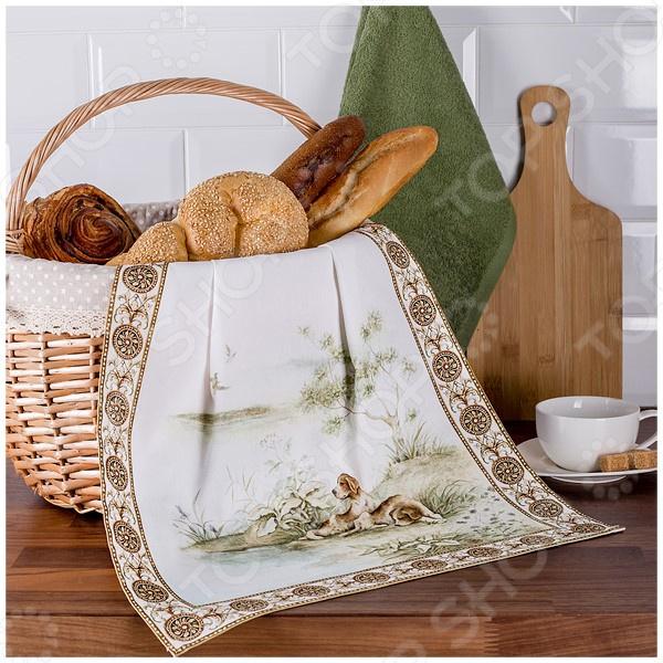 Комплект из 2-х полотенец Santalino «Охота» 850-705-62 полотенца santalino полотенце shulamite 40х70 см