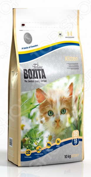 Корм сухой для котят и беременных кошек Bozita Kitten