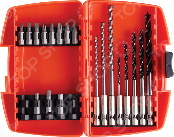 Набор сверл Archimedes 90028 набор шпателей для выравнивания archimedes stabi 4 шт