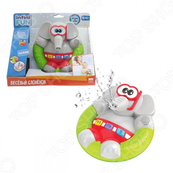 Игрушка для ванны детская Kidz Delight «Веселый Слоненок»