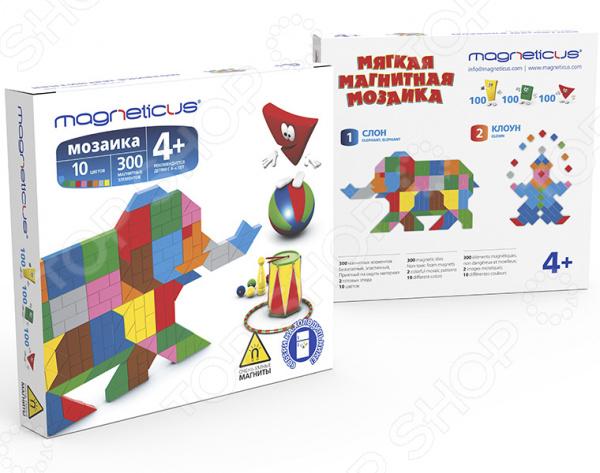 Мозаика Magneticus «Слон» мозаика paulinda мозаика super beads попугай 200 элементов
