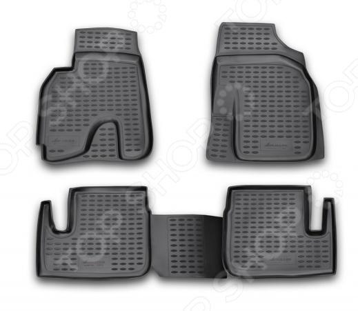 Комплект ковриков в салон автомобиля Novline-Autofamily ТагАЗ Vortex Tingo 2010 pu тагер тагаз купить коробку передач