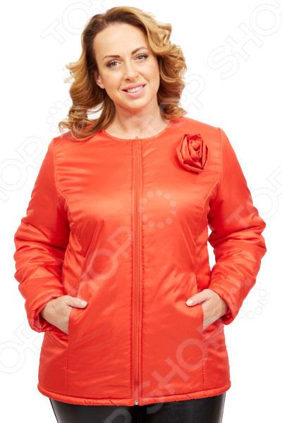 Куртка СВМ-ПРИНТ «Тонкий вкус». Цвет: красный  свм принт вкус востока цвет розовый