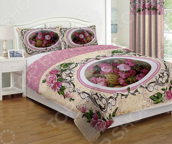 Комплект постельного белья «Пинк». 1,5-спальный