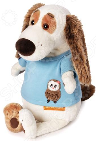 Мягкая игрушка BUDI BASA «Бартоломей в футболке с совой»