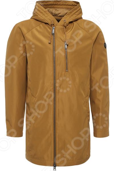Куртка Finn Flare B17-42000. Цвет: песочный