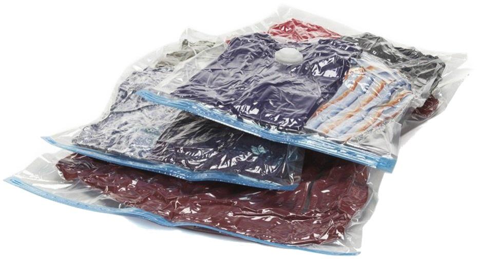 Набор вакуумных пакетов для хранения вещей с насосом Bradex «Спэйс Мастер»