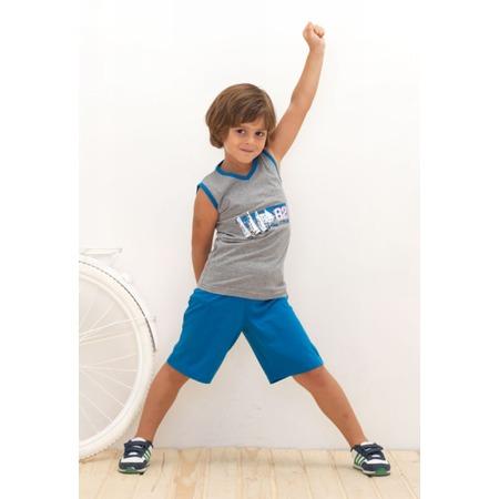 Купить Пижама для мальчика BlackSpade 7097. Цвет: серый