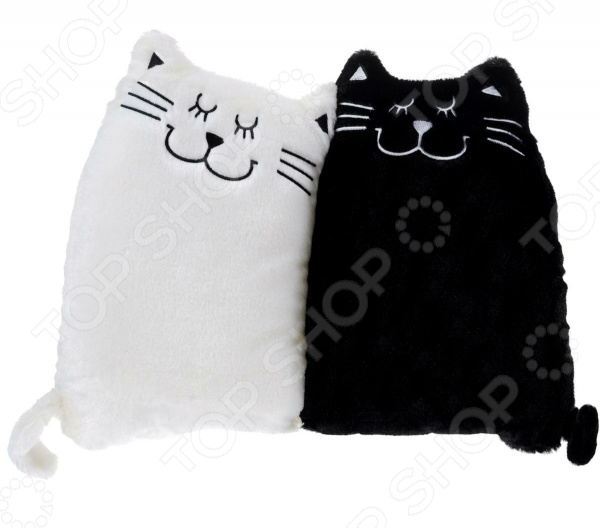 Подушка-игрушка Gulliver «Котики Инь и Янь» горбунова и в метровая раскраска котики и котята