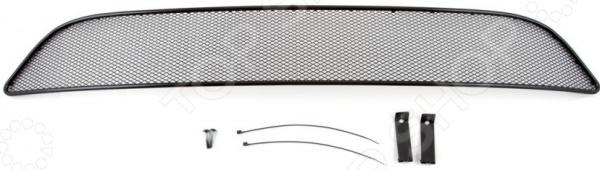 Комплект внешних сеток на бампер Arbori для Infiniti QX60, 2014. Цвет: черный бампер jc sportline infiniti