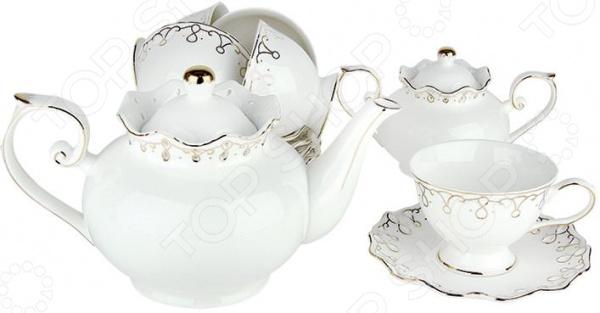 Чайный сервиз Коралл «Клеопатра» Y-ZPS16 Коралл - артикул: 1052711