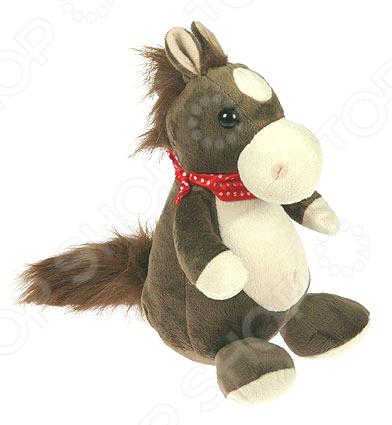 Мягкая игрушка со звуком «Лошадка»