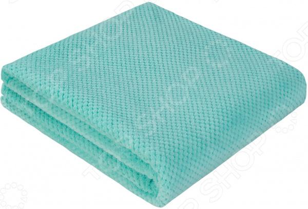 Покрывало Guten Morgen Coral Fleece. Цвет: ментоловый
